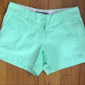 Mint lime green shorts